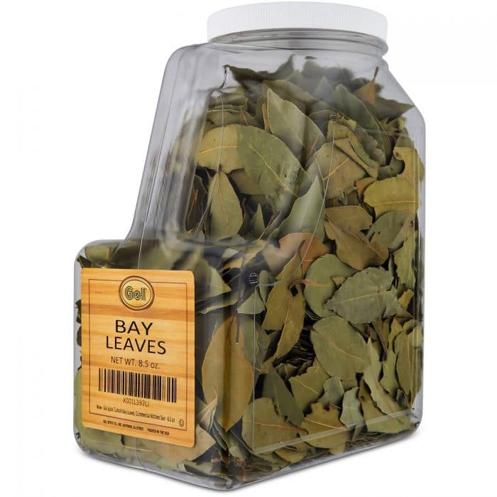 bay leaves when storing food supply
