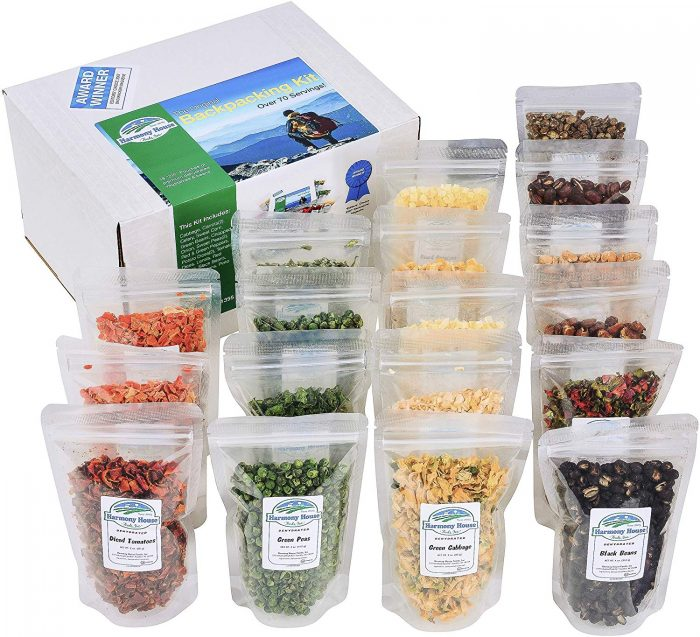 dehydrated survival food supply