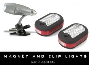 magenet and clip lights