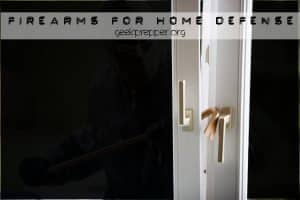 firearms for home defense
