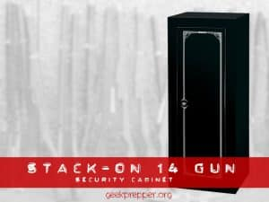 Stack On 14 Gun Security Cabinet
