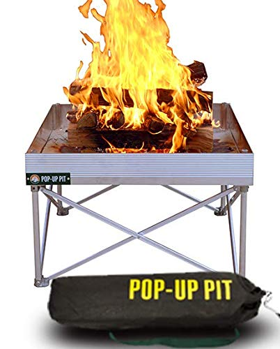 Pop-Up Fire Pit | Portable and Lightweight