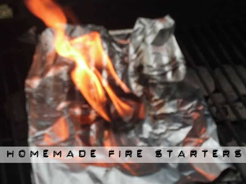 how to make lint and wax fire starters