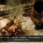 Maintain Your Core Temperature