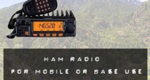 ham radio for mobile or base