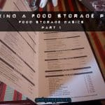 Making a Food Storage Plan