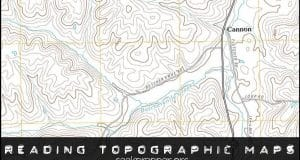 reading topographic maps