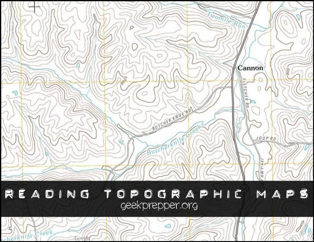 Reading Topographic Maps - Geek Prepper