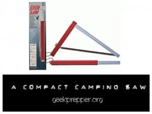 compact camping saw