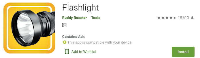 flashlight by rudy rooster