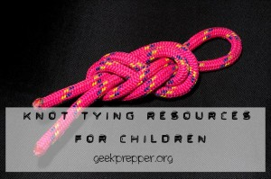 knot tying resources for children