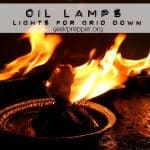 Oil Lamps – Light for Grid Down