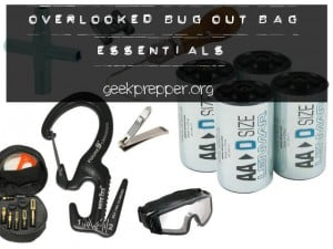 overlooked bug out bag essentials