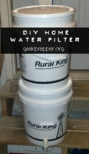 DIY Home Water Filter