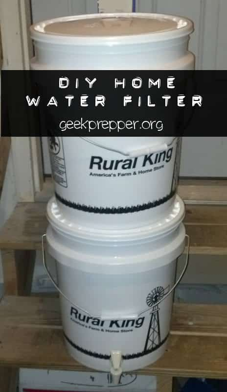 Diy Water Filter Geek Prepper