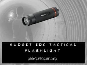 EDC Budget tactical flashlight