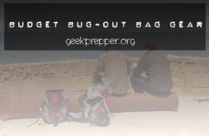 budget bug out bag gear