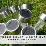 Outdoor Solar Lights during Power Outages