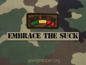 embrace the suck