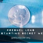 Fresnel Lens – Fire Starting Secret Weapon