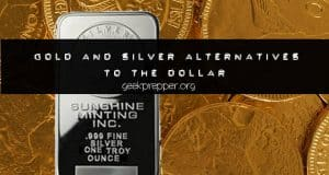 gold and silver alternatives to the dollar