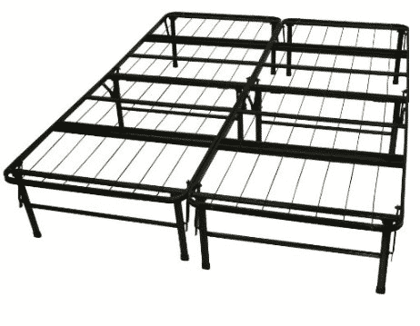 Spectacular These taller bed frames also allow us to get by without using box springs while providing a bed that is still a normal height