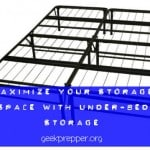 Maximize your space with Under-Bed Storage
