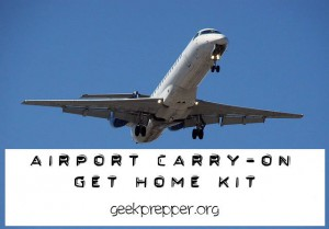airport carry on get home kit