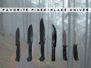 favorite fixed blade knifes