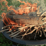 Backyard Primitive Fire starting