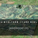 Poncho Shelters (Tarp Shelters)