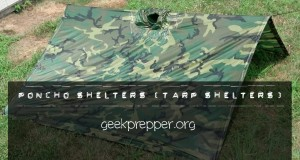 poncho shelters tarp shelters geekprepper