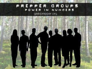 prepper groups power in numbers