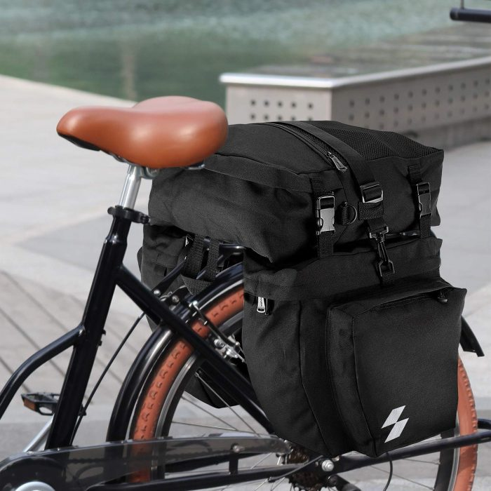 bugout bike with pannier