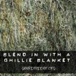 Ghillie Blanket!