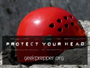 protect your head geekprepper