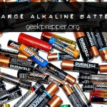 Recharge Alkaline Batteries