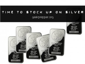 time to stock up on silver