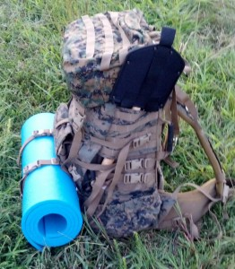 ILBE pack as a bug out bag geek-prepper