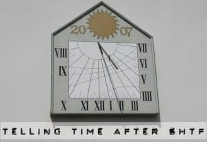 telling time after shtf