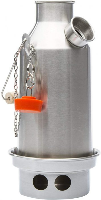 Kelly Kettle Camp Stove Stainless Steel