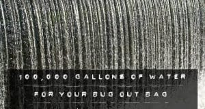 100000 gallons of water for your bug out bag geekprepper