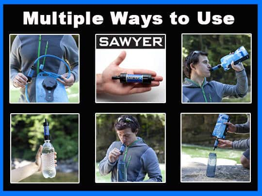 Sawyer Mini Multiple Uses