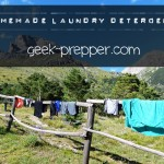 Homemade Laundry Detergent