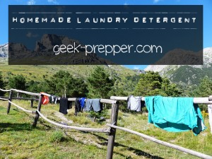 homemade laundry detergent geek-prepper