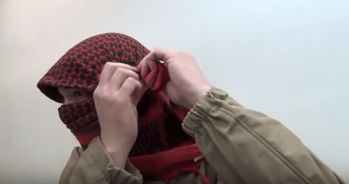 how to tie a shemagh 5