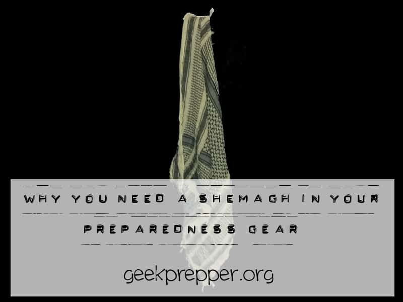 Why You Need a Shemagh in your Preparedness Gear