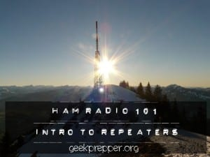 HAM Radio 101 intro to repeaters