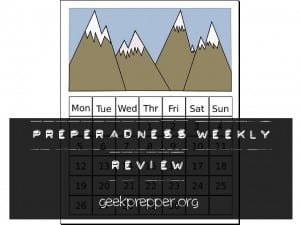preparedness weekly review