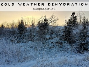 cold weather dehydration